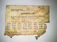 zeljava garantni list akumulatorji