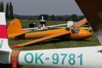 mini-AA 001 Kmotr, še edino dvosedežno jadralno letalo te vrste, ki leti v klubu