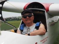 mini-AA 004 Miroslaw Lewandowski, lastnik Foke, si je privoščil let z Morellijem